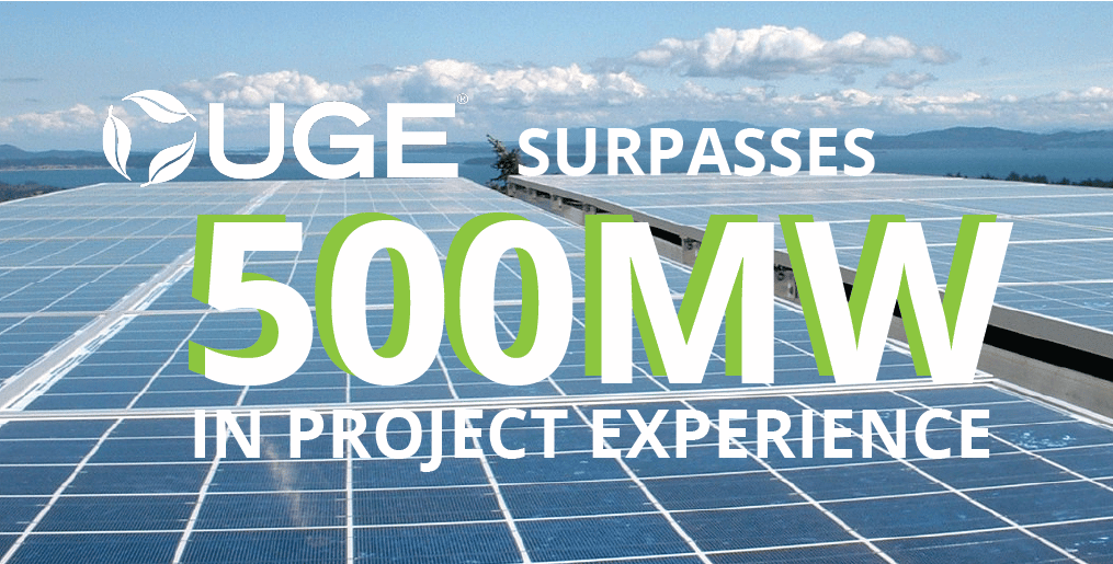 Read more about the article UGE Announces Q2 2021 Project Updates, Surpasses 500MW in Experience