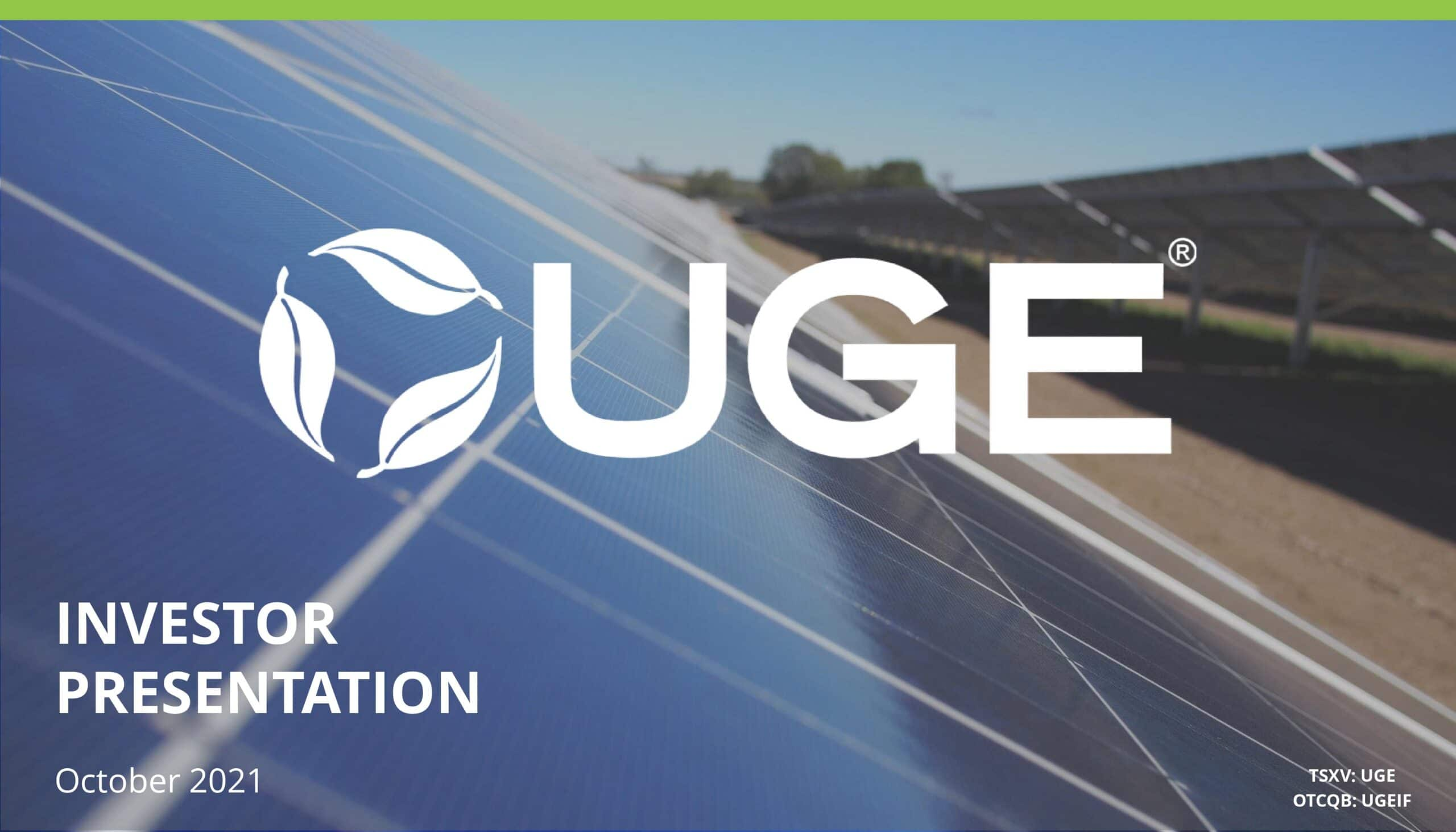 UGE Investor Presentation - 20211001-page-001
