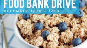 Holiday Food Bank Drive