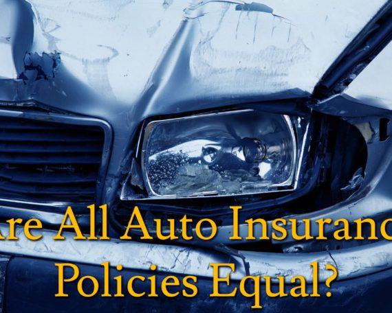 Auto Insurance Policies
