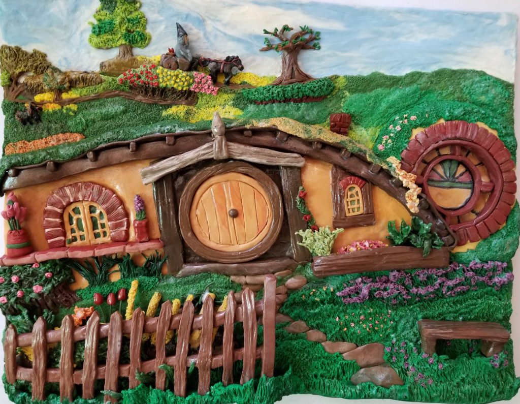 The newest piece - A Tiny Bag End