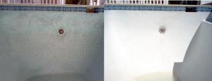 acid wash pool before and after
