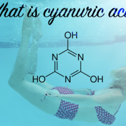Cyanuric acid (CYA), also called stabilizer or conditioner
