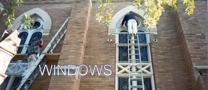 Church Window and Stained Glass Repair