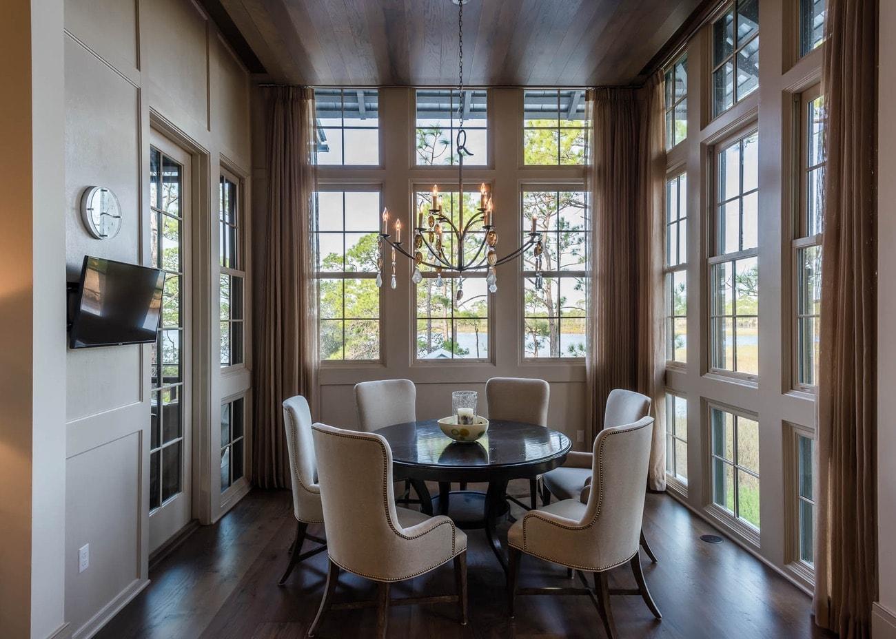 Custom home interior design by Sugar Beach Interiors, Santa Rosa Beach, Florida, Watercolor.