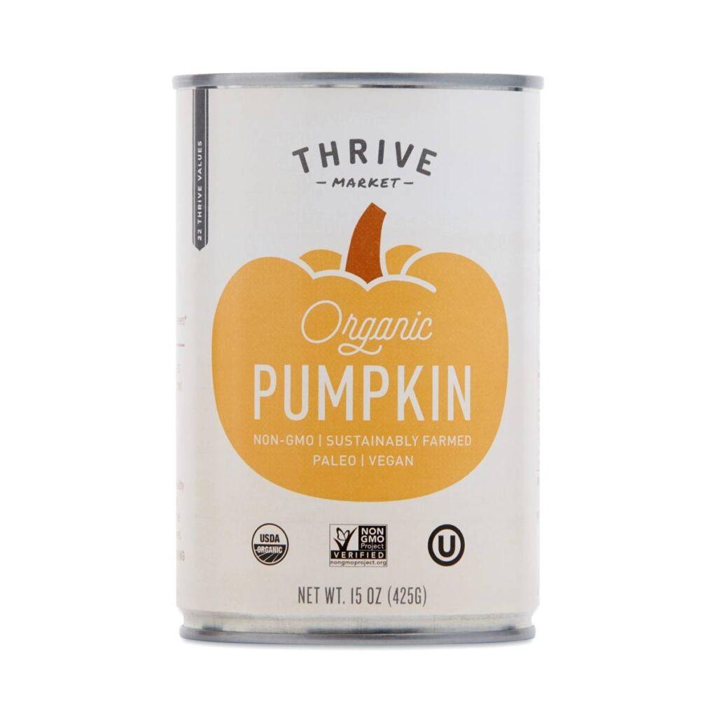 Organic Canned Pumpkin