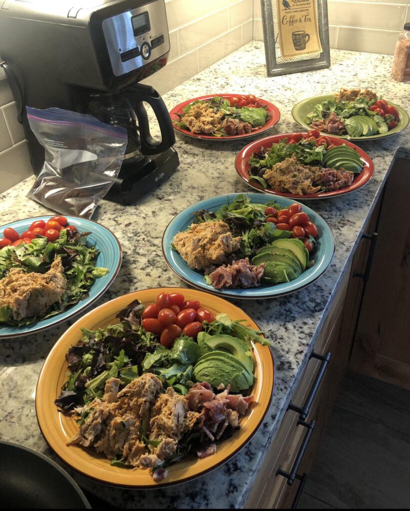 Quick Family Meal on 4-day getaway to Buena Vista Colorado