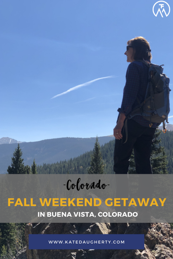 Fall Weekend Getaway in Buena Vista, Colorado