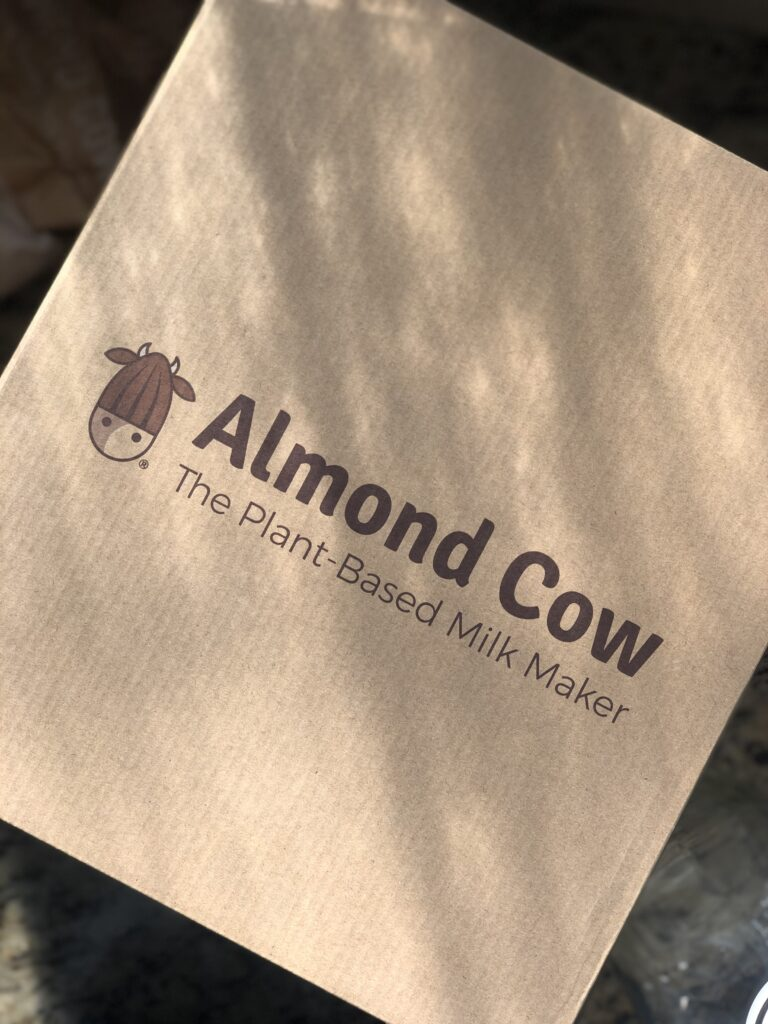 Unboxing The Almond Cow Plant-Based Milk Maker