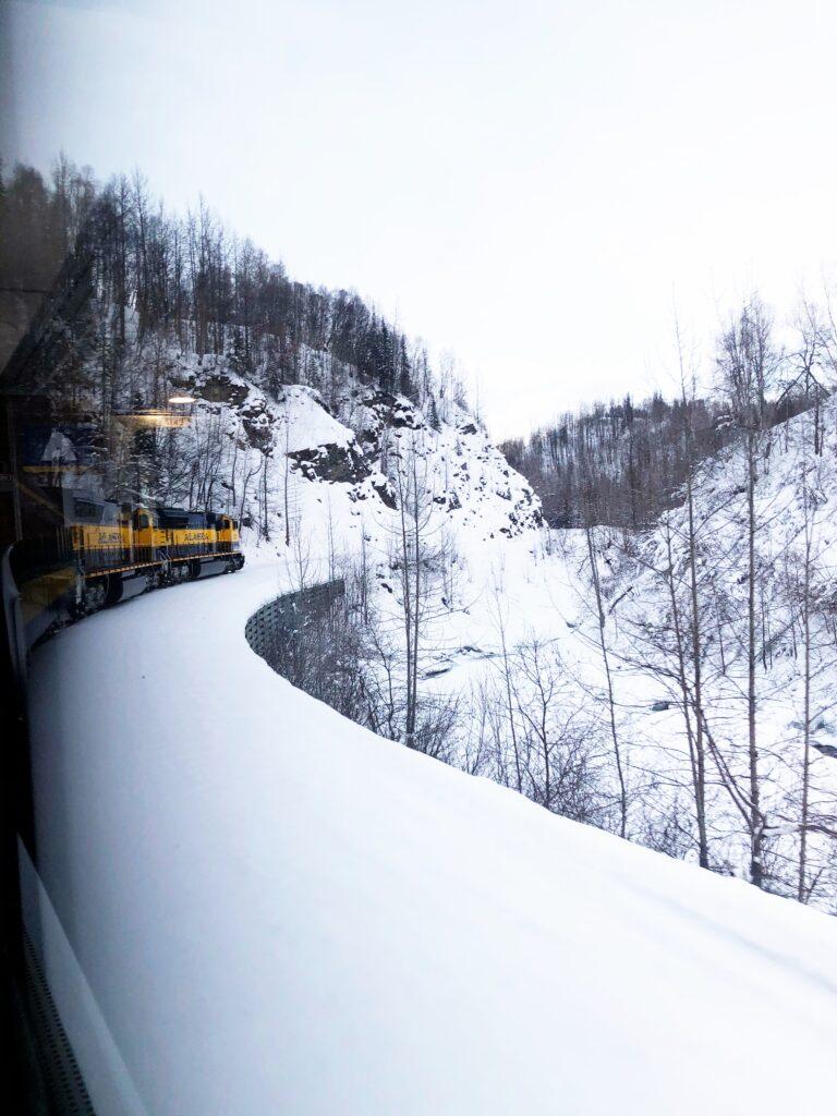 Winter Train Alaska