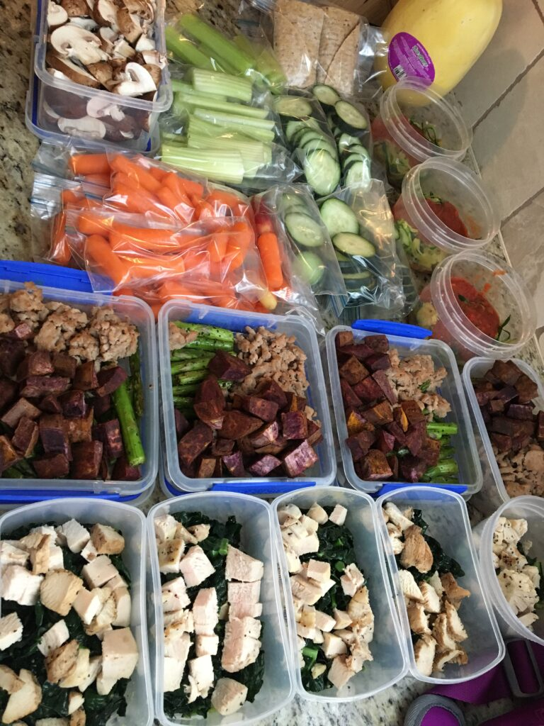 Easy Meal Prep Guide for 5 meals in two hours