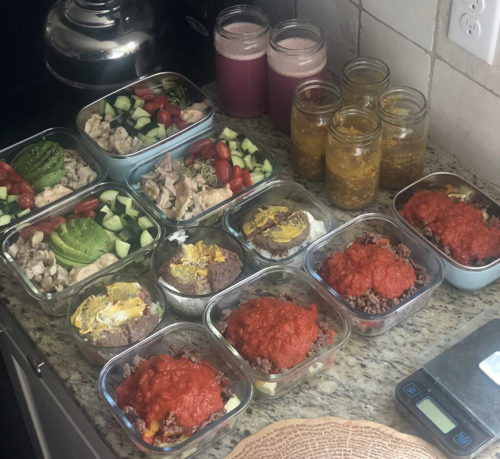 Easy Meal Prep -5 meals in two hours- Sunday Meal Prep Plan