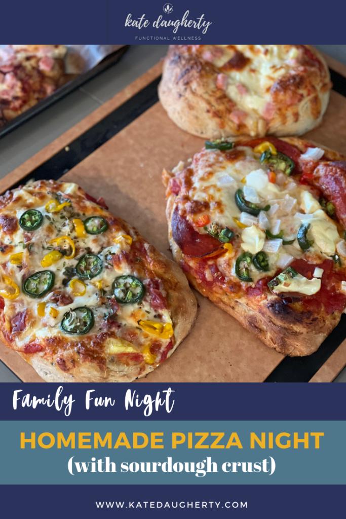 Homemade Pizza Night Familiy Dinner