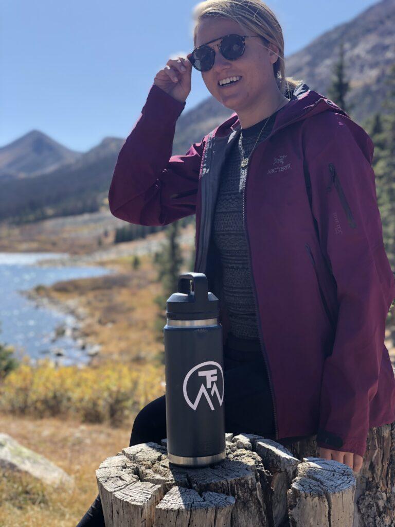 Hiking Snacks Break on the Trail