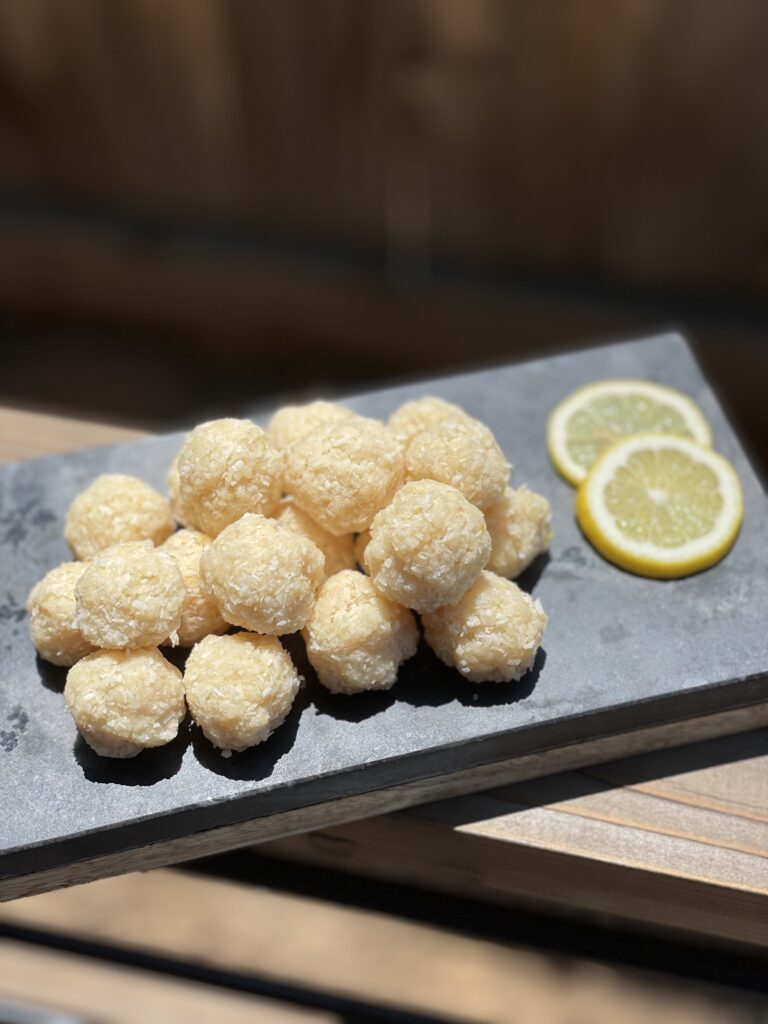 AIP Lemon Coconut Power Balls MCT