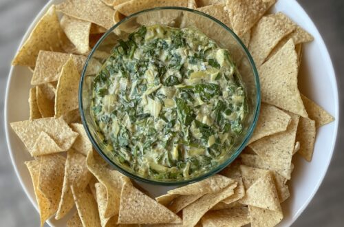 Dairy Free Spinach Artichoke Dip with oat Milk