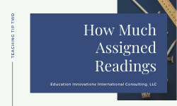 How Much Reading Assignment