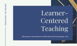 In Class Learner-Centered-Teaching: Think-Share-Pair