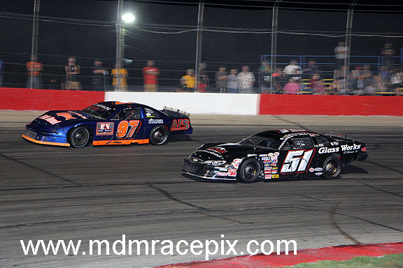Nottestad Claims Overall on Double Feature Night