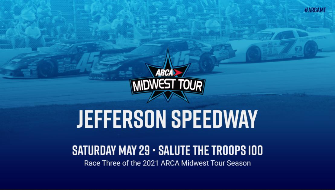 Midwest Tour Returns To Jefferson Speedway