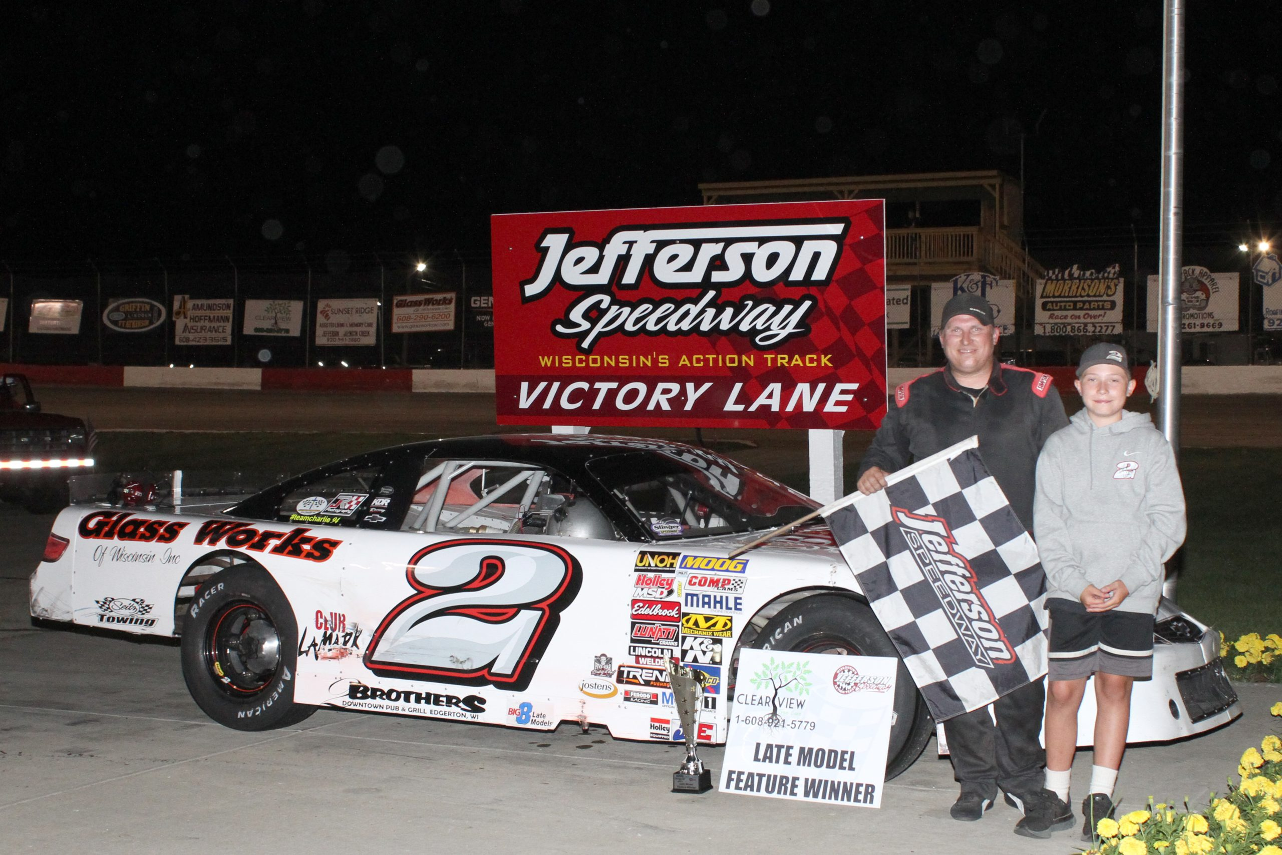 Dale Nottestad In Victory Lane Again!