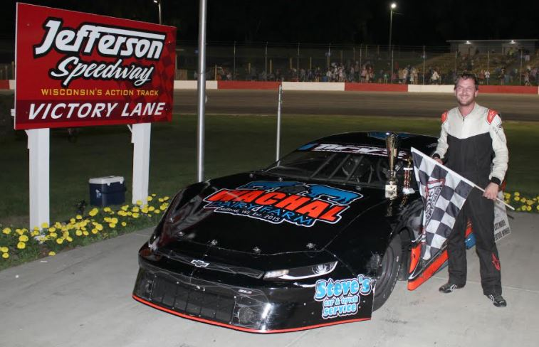 Stephen Scheel Claims his First Victory