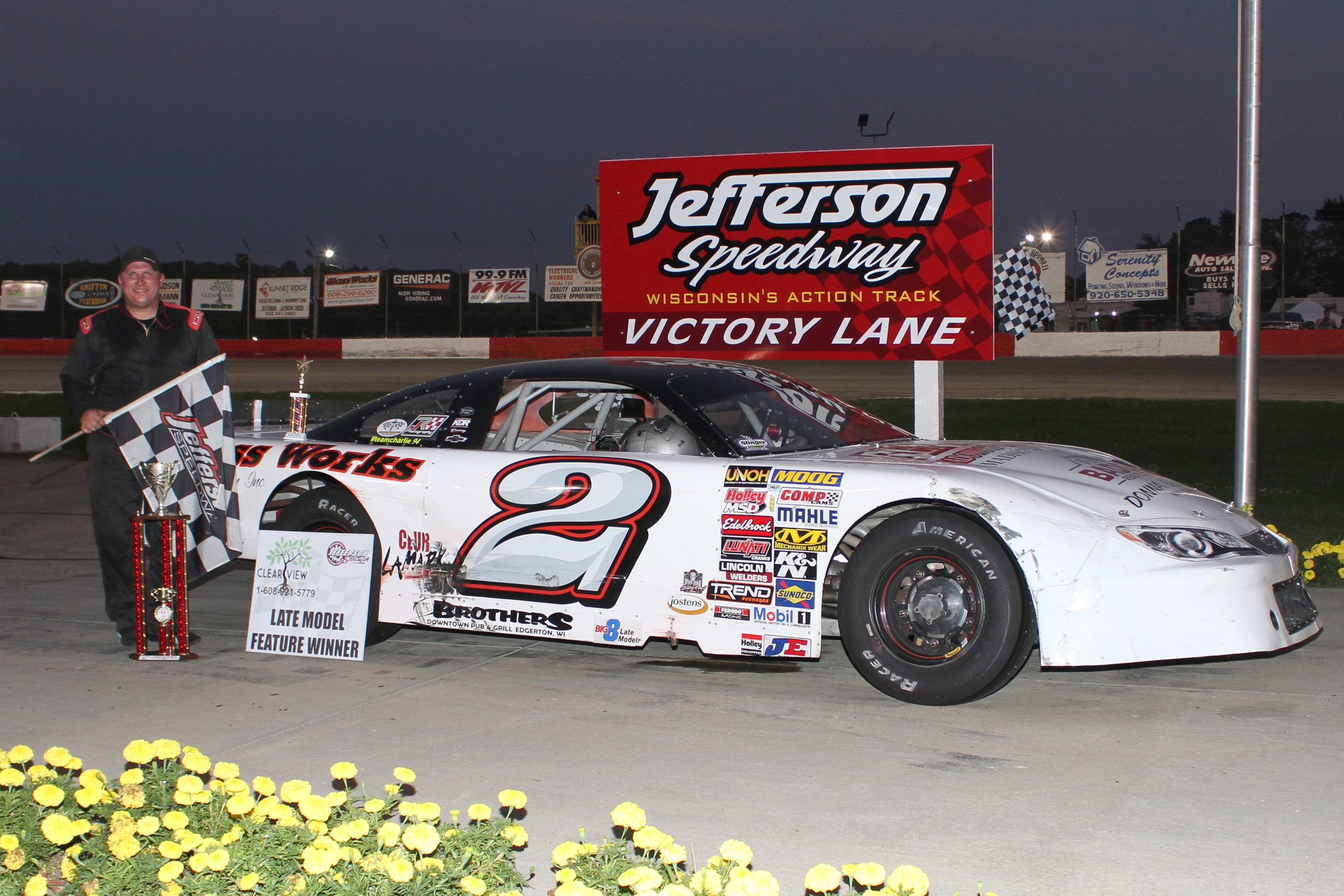 Dale Nottestad Secures Another Feature Victory
