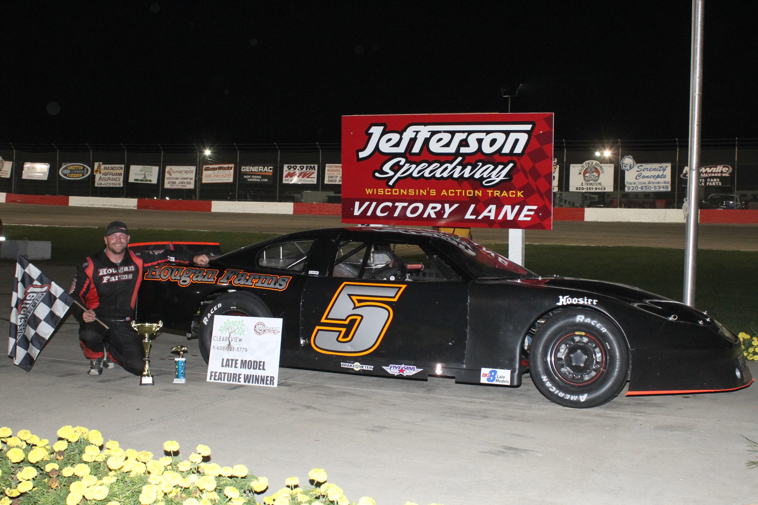 Johnson Returns Home to Claim Another Feature