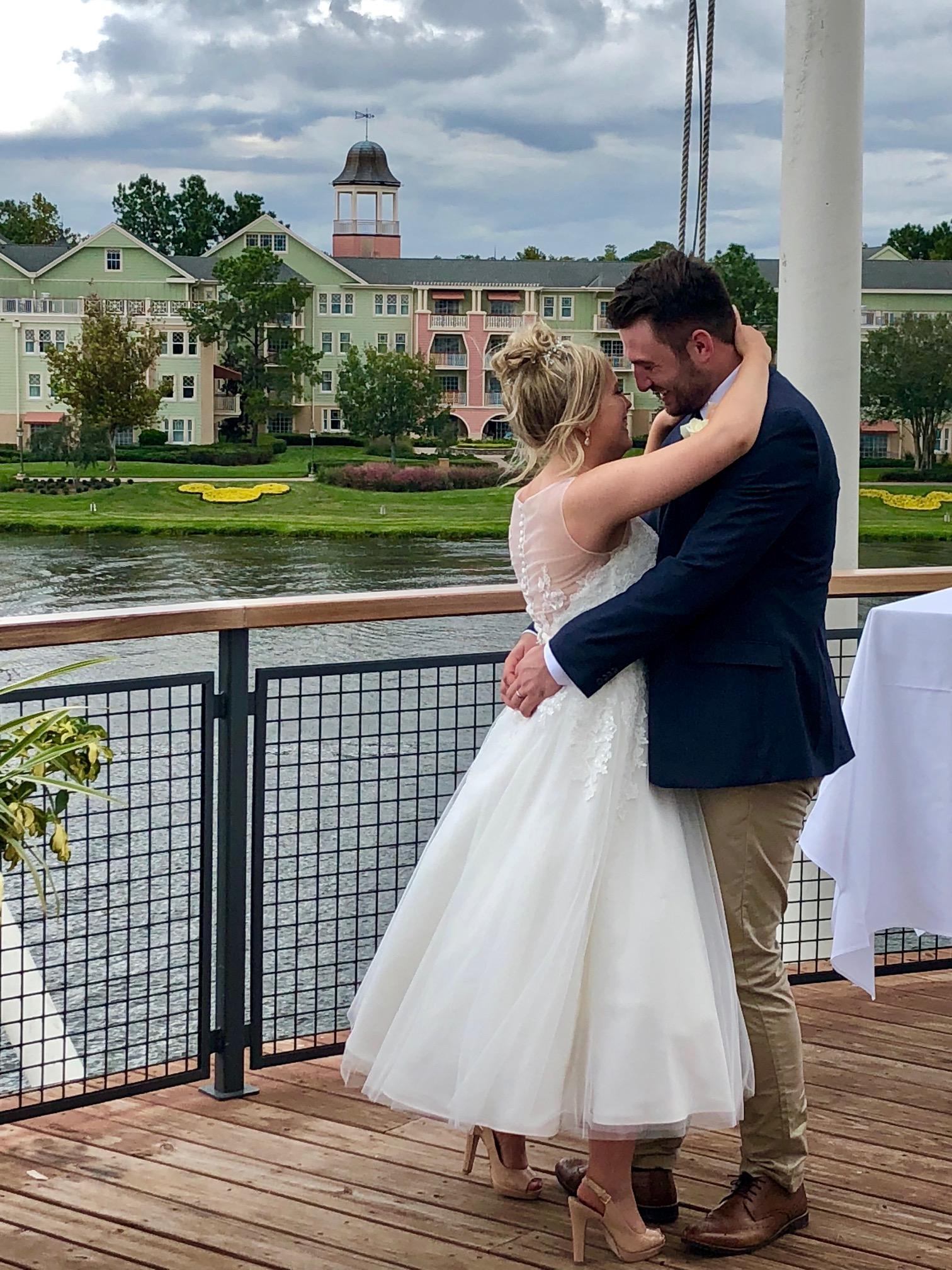 Disney Springs Wedding