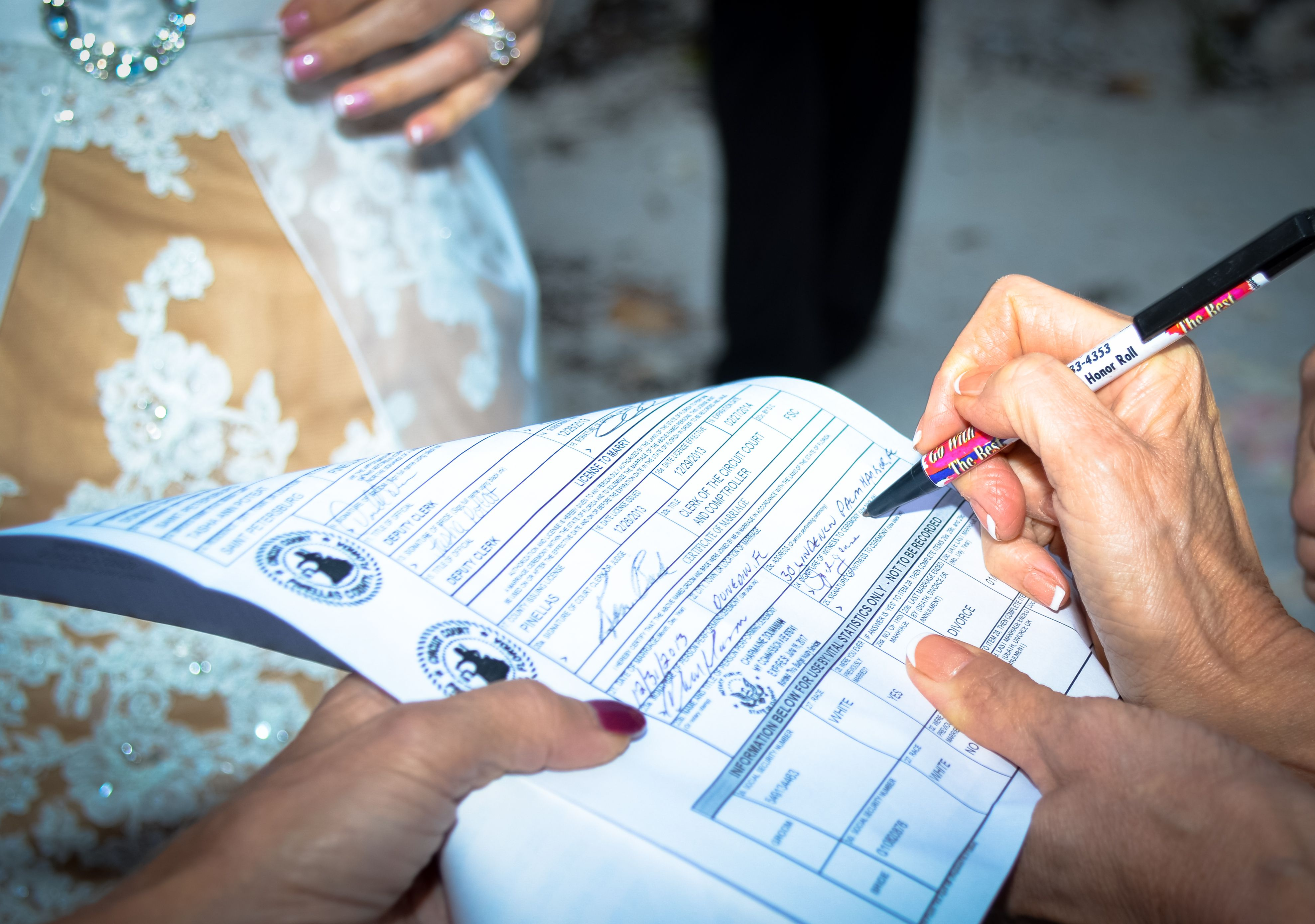 How to get a Florida Marriage License