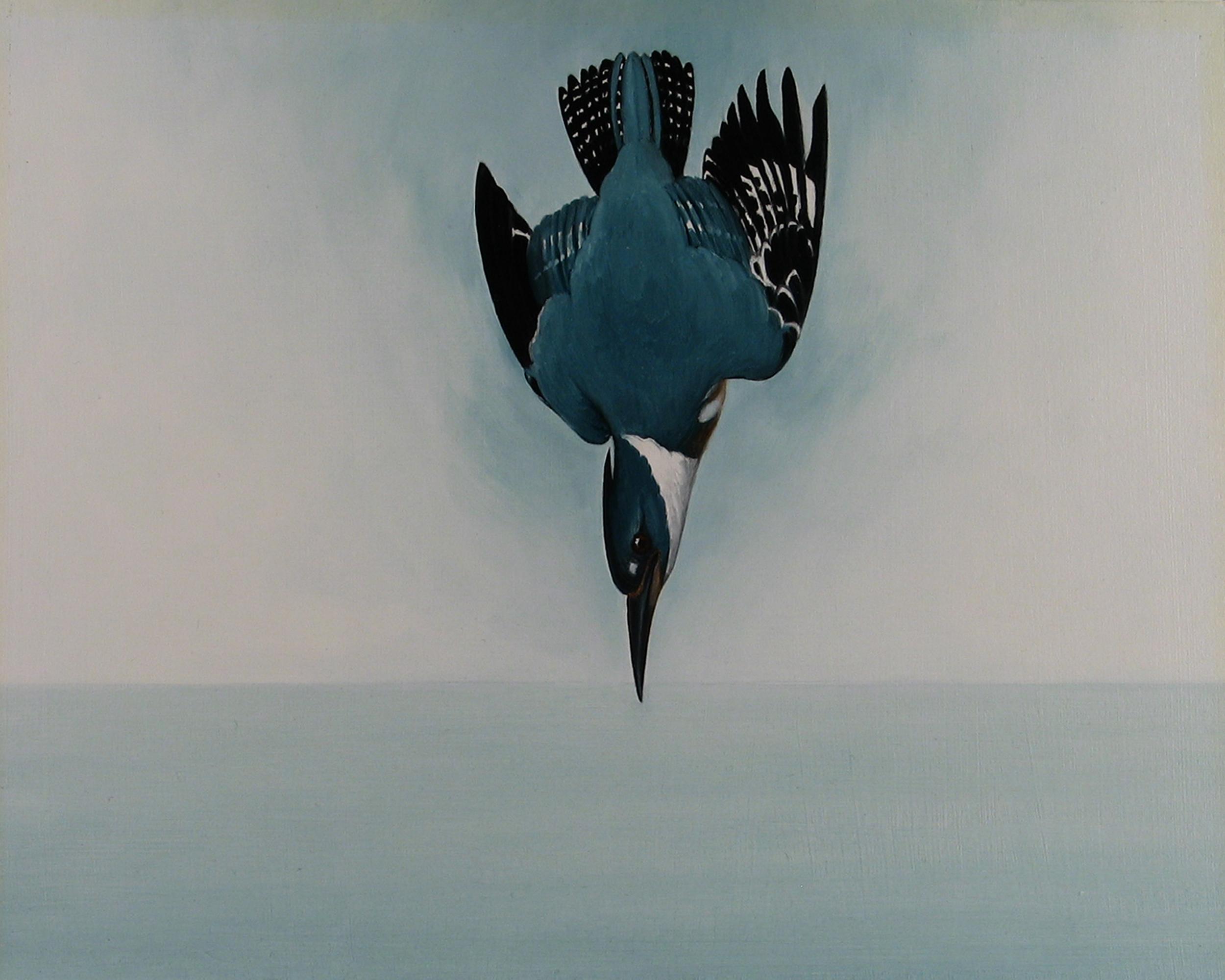 """Halcyon Days, 2012. Oil on art board, 9x12"""""""