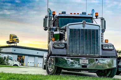Family owned trucking company in Wisconsin