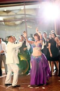 Mariyah: Belly dance at Wedding NYC - Photo by Matt Ramos