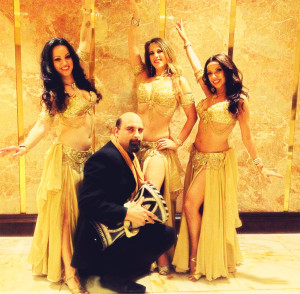 Belly dancers NY- Mariyah and Infinity bellydance with drummer at Crest Hollow Country Club, Long Island NY