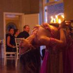 Mariyah Belly Dancer NYC at a wedding