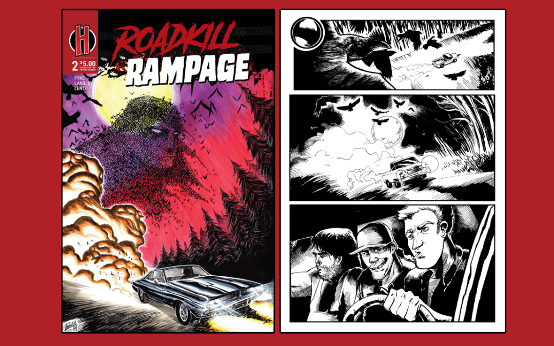 Roadkill Rampage Returns with Issue 2