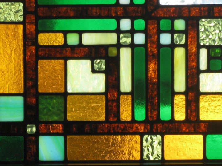Frank Lloyd Wright Office Window