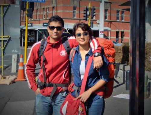Auckland, New Zealand - Our first International holiday together!