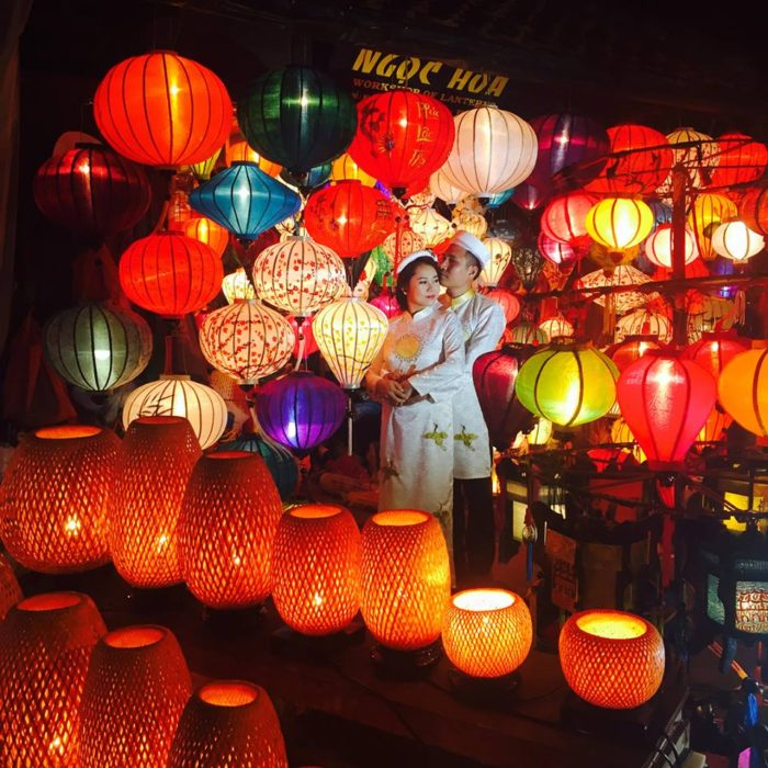 Solo Travel: Be smart; Be careful. Pic - Beautiful night market at Hoi An, Vietnam.
