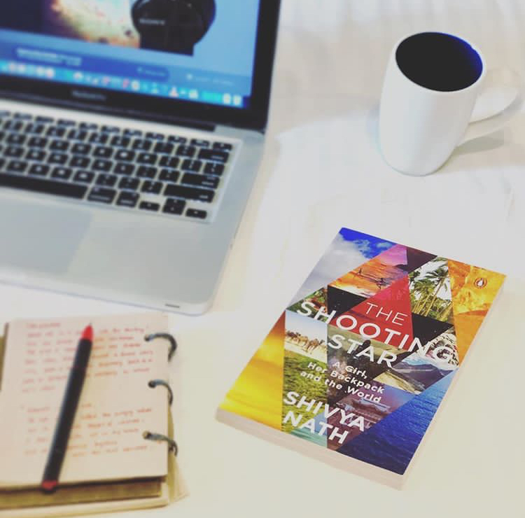 The Shooting Star: The first book of one of India's leading travel blogger, Shivya Nath.