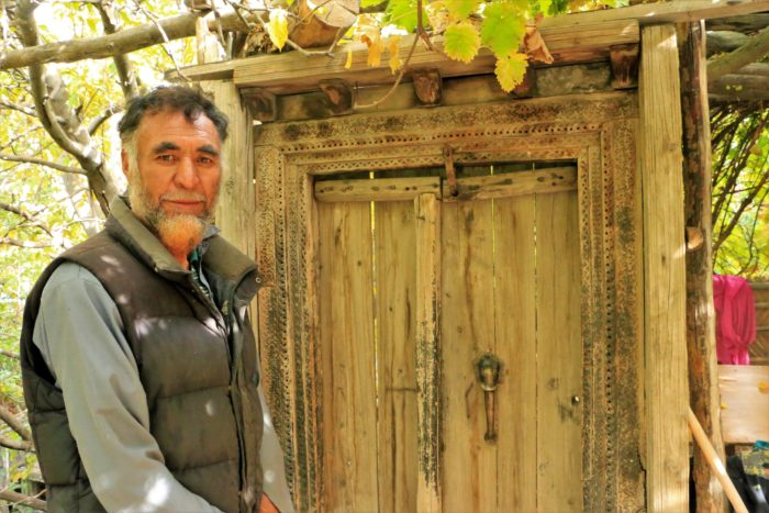 The King of the Yagbo Dynasty, Chhorbhat Khapulu, Baltistan.