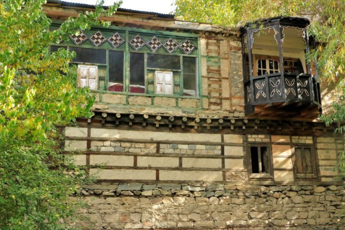 """The back side of the """"Palace"""" at Turtuk."""