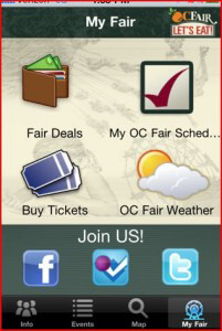 OC Fair iPhone App