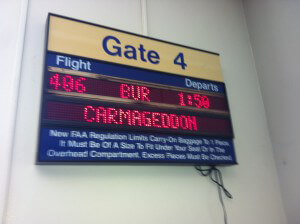 jetBlue Burbank Flight Carmageddon