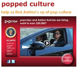 popchips ashton kutcher