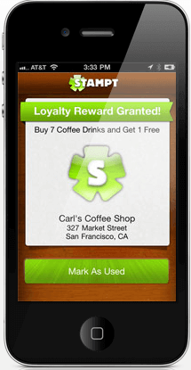 Stampt Mobile App