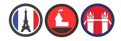 Foursquare cities badge