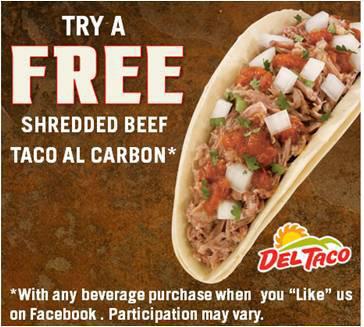 Del Taco Deal