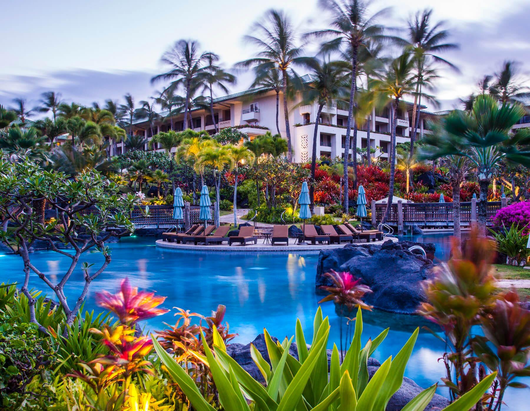 Grand Hyatt Kauai Social Media