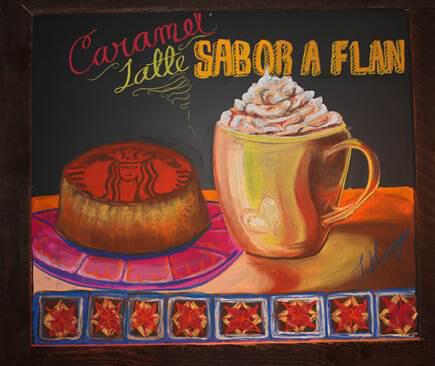 Caramel Flan Latte at Starbucks